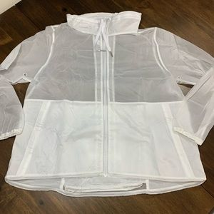 Lululemon Raincoat/backpack!